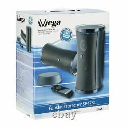 VSG SP-4780 Design Funk Lautsprecher Set Kabelloser Audio Speaker Outdoor IPX3 S