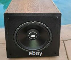 Vintage M&K Miller & Kreisel Sound Volkswoofer 2B 12 Power Subwoofer Speaker