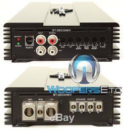 Zapco St-2000xm II Car Monoblock 2000w Rms Class D Subwoofers Bass Amplifier New