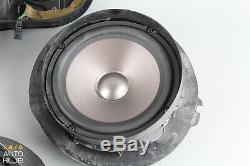03-06 Mercedes W211 E320 E350 E500 Haut-parleur Porte Haut-parleurs Set Subwoofer Oem