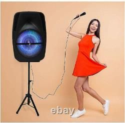#1 12 Portable Fm Bluetooth Haut-parleur Sub Woofer Système De Son De Basse Lourde