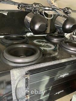 (1)sundown Audio X-15 V. 2 D2 Pro 15 Dual 2-ohm 1500w Rms Basse Subwoofer Haut-parleur