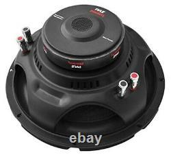 10 Pouces Car Audio Subwoofer Speaker Sub Dual 4 Ohm Enclosure Box Bass 1000 Watt