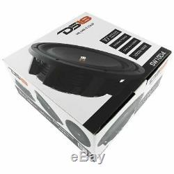 10 Shallow Mont Subwoofer 1000w Dual 4 Ohm Pro Audio-parleurs Bass Ds18 Sw10d4