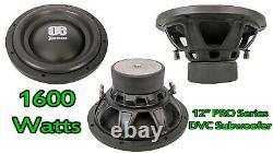 12 Pouces Subwoofer 1600 Watts 4 Ohms Dual Voice Coil Basse Car Audio Sub Président