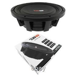 12 Shallow Mount Subwoofer 1200w Dual 4 Ohm Pro Audio Bass Speaker Ds18 Sw12d4