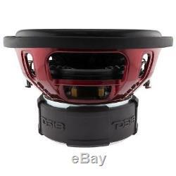 12 Subwoofer 2500w Max Dual 4 Ohms Enceinte Basse Car Audio Sub-ds18 Exl X12.4d