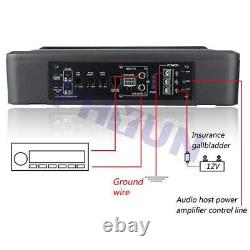 12v 600w Car Subwoofer Box Amplificateur Bass Boost Lowpass Hifi Sound Audio Speaker
