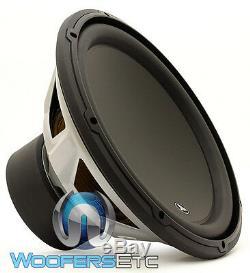 13w3v3-4 Jl Audio 13,5 Sub 4 Ohm Single Caisson De Graves Loud Speaker Basse 13w3