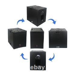 15 4500w Powered Pa Dj Subwoofer Dsp Stage Active Subwoofer Audio Club Woofer