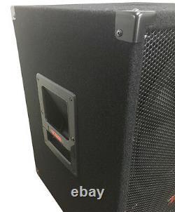15 Big Bottom Bass Subwoofer Haut-parleur 1000 Watts Adkins Pro Audio Dj Speaker
