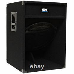 18 Subwoofer Pa Dj Pro Audio Band Speaker New Sub