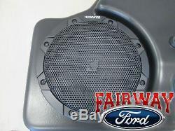 19 À 20 F-150 Oem Ford Kicker Audio 8 Sub Woofer Speaker & Amp 100w Kit