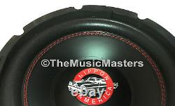 (2) 15 Pouces Home Stereo Sound Studio Woofer Subwoofer Speaker Bass Driver 8 Ohm