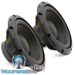 (2) Alpine W12s4 12 Subs Car Audio 4 Ohms 750w Subwoofers Enceintes Bass Nouveaux