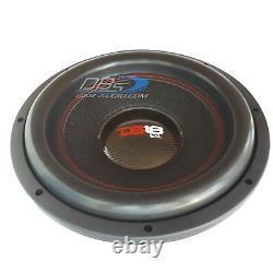 2 Ds18 Exl-xxb12.2d 12 Subwoofer 8000w Dual 2ohm Spl Car Audio Bass Sous-haut-parleur