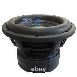2 Ds18 Exl-xxb12.4d 12 Subwoofer 8000w Dual 4ohm Spl Car Audio Bass Sous-haut-parleur