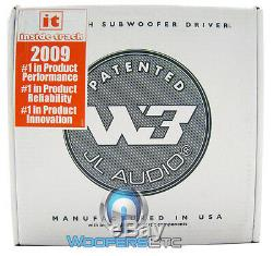 2 Jl Audio 12w3v3-4 Voiture 12 Subs 4 Ohms 2000w Max Subwoofers Enceintes Bass Nouveaux