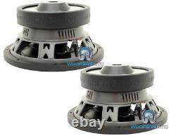 (2) Memphis Mcr10s4 10 Subs Car Svc 4-ohm 600w Subwoofers Bass Speakers Nouveau