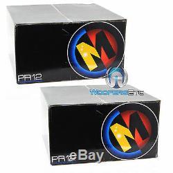 2 Memphis Pr12s4v2 Car Sous 4 Ohm 12 1000w Pro-parleurs Basses Caissons De Basse Haut-parleurs Nouveaux