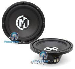 2 Memphis Srx12d4 12 Subs 500w Subwoofers Basses 4ohm Car Audio Haut-parleurs Nouveaux