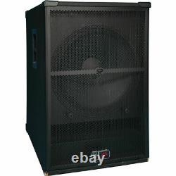 (2) Peavey Sp 118 Pro Audio Dj Passive 2400w 18 Pa Sub-woofer Package Nouveau