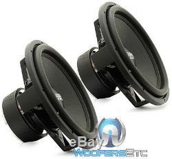 (2) Sa-15 D2 Sundown Audio 15 Sous 1500w Dual 2 Ohm Subwoofers Haut-parleurs Basses New