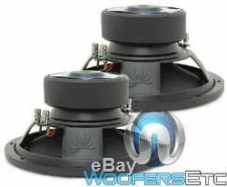 (2) Soundstream Bxw124 12 2400w Subs Dual 4 Ohms Caissons Basses Haut-parleurs Nouvelles
