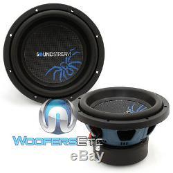 (2) Soundstream R3.10 Subs 10 1400w Dual 2 Ohms Subwoofers Enceintes Bass Nouveaux