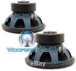 (2) Soundstream R3-12 Référence 12 3200w Max Dual 2 Ohms Haut-parleurs Nouveaux Caissons De Basse