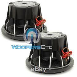 (2) Soundstream T5.122 Subs Pro 12 4000w Max Dual 2 Ohms Haut-parleurs Subwoofers Nouveau