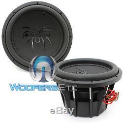(2) Soundstream T5.124 Subs Pro 12 4000w Max Dual 4 Ohms Haut-parleurs Subwoofers Nouveau
