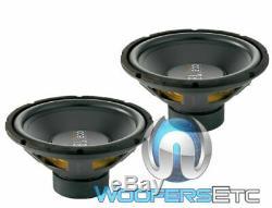 2 Sous-marins Jbl Gt-x1200 12 1200w 4ohm Subwoofers Bass Car Audio Harman Intervenants De Nouvelles