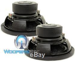 (2) Sundown Audio E-12 V3 D2 12 500w Rms Double 2 Ohms Subwoofers Voiture Haut-parleurs Nouveau