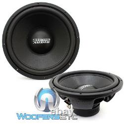(2) Sundown Audio E-15 V3 D2 10 500w Rms Dual 2-ohm Car Subwoofers Haut-parleurs Nouveau