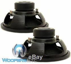 (2) Sundown Audio E-15 V3 D4 15 500w Rms Double 4 Ohms Subwoofers Voiture Haut-parleurs Nouveau