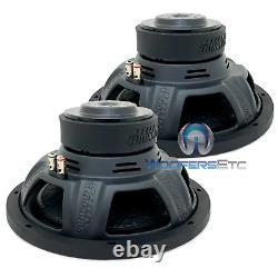 (2) Sundown Audio Lcs V. 2 D4 10 300w Rms Dual 4-ohm Voiture Subwoofers Haut-parleurs Nouveau