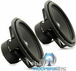 (2) Sundown Audio Sa-15 D4 Classic 15 750w Rms Dual 4 Ohm Subwoofers Haut-parleurs