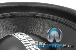 (2) Sundown Audio Sa-15 D4 Rev. 2 Subs 15 600w Double 4 Ohms Haut-parleurs Subwoofers