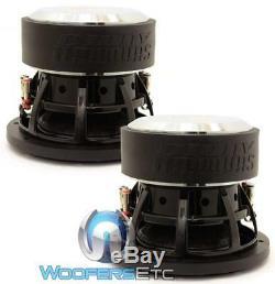 (2) Sundown Audio Sa-8 V. 3 D2 Subs 8 500w Dual 2 Ohms Caissons De Basses-parleurs