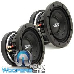 (2) Sundown Audio Sd-3 8 8 D2 300w Rms Subs Dual 2 Ohms Caissons De Basses-parleurs