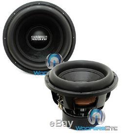 (2) Sundown Audio X-15 V. 2 D4 Subs 15 Dual 4 Ohms Haut-parleurs Nouveau Caissons De Basse Basse