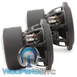 (2) Sundown Audio X-8 V. 3 D2 8 800w Rms Dual 2 Ohms Caissons De Basses Haut-parleurs Nouvelles