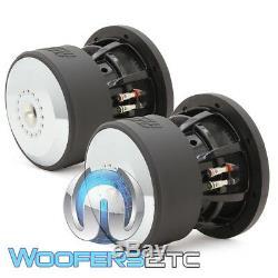 (2) Sundown Audio X-8 V. 3 D4 8 800w Rms Dual 4 Ohms Caissons De Basses Haut-parleurs Nouvelles
