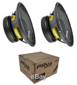 2 X Audio 10w650a 10 Prv Sub Woofer Alto Audio Pro Bass Speaker 650w 4 Ohm