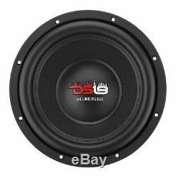 2x 12 Subwoofer 2900w Dual 4 + 4 Ohms Enceinte Basse Audio Car Ds18 Elite Z-vx12.4d