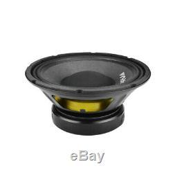 2x Audio 10 Prv Sub Woofer Alto Audio Pro Bass Speaker 1300w 8 Ohms