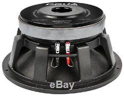 2x Audio 12mr2000 Pro Vrp Midrange Midbass 2000w 8 Ohms Sous-woofer Haut-parleur (pair)