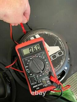 3 Jl Audio 12 W6 DVC 300w Rms Compétition Subwoofer Sub 12w6 Jlaudio Intervenant
