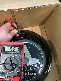 3 Jl Audio 15 W6 DVC 400w Rms Compétition Subwoofer Sub 15w6 Jlaudio Intervenant